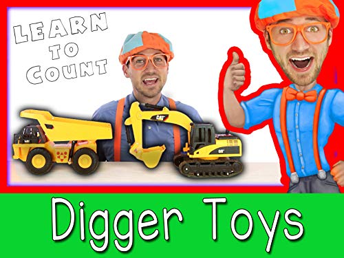 Construction Vehicles for Preschoolers - Learn to Count with Blippi]()
