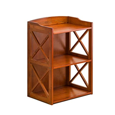 HM&DX Bambú Librerías 5 Nivel, Multifuctional Antiguas ...
