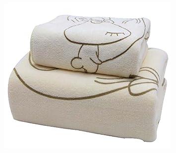 Black Temptation Juego de 2 Toallas de baño absorbentes ecológicas Toallas de baño Toallas de baño Grandes Toallas de baño: Amazon.es: Deportes y aire libre