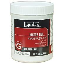 Liquitex Matte Gel Medium, 16-Ounce