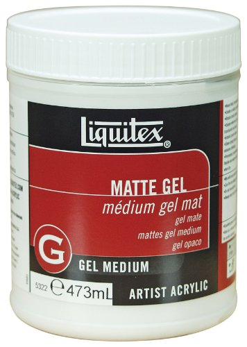 Liquitex Professional Matte Gel Medium, 16-oz