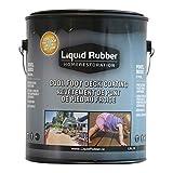 Liquid Rubber Cool Deck Sealant, Grey 1 Gallon