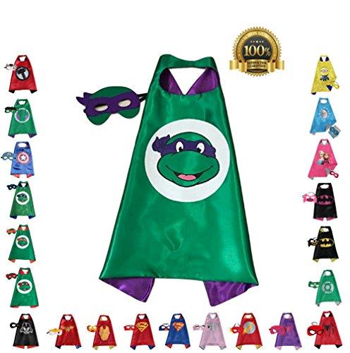 [FAJ Child Superhero or Princess Costume Cape and Mask] (Superhero Outfits Ideas)