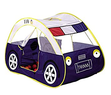 zewik kids pop up play tent children cartoon police car canopy kids adventure station best