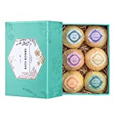 Kyпить Bath Bombs Gift Set, Ultra Large Bath Bomb Kit, Lush Spa Floating Fizzies, Best Gift Ideas for Kids, Women, Must-have Bath Products, Add to Bubble Bath, Bath Salts – Pack of 6 на Amazon.com