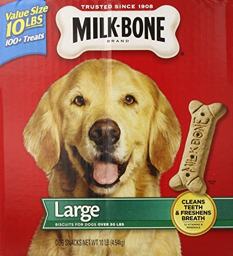 10 Lb Bone (Dog Chews & Treats Milk-Bone Original Dog Biscuits - for Large-sized Dogs, 10-Pound, New)