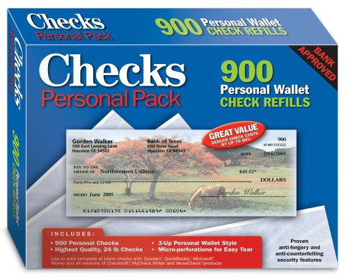 Checks - Personal Pack