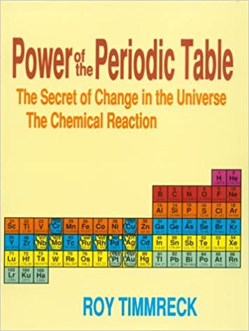 Power Of The Periodic Table The Secret Of Change In The Universe