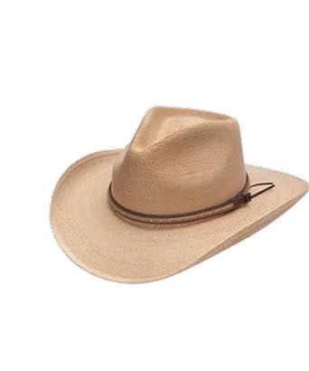 Stetson   Dobbs OSSMIL-4034 Mens Sawmill Palm Leaf Straw Western Hat 2c446440206