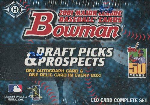 2001 Bowman Draft Picks & Prospects Baseball Hobby ()