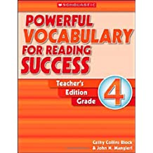Powerful Vocabulary for Reading Success Grade 4: Teaching Guide
