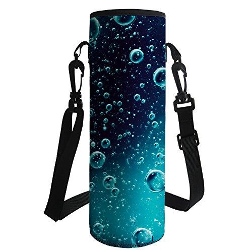 Hugs Idea - Funda para botella de agua con aislante de neopreno, Y-CC4168Z19, Gota de agua, large