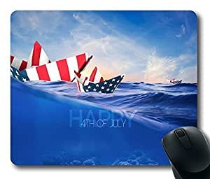 Independence Day Usa 6 Mouse Pad Desktop Laptop Mousepads Comfortable Office Mouse Pad Mat Cute Gaming Mouse Pad