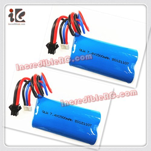 2pcs 7.4V 1500MAH Li-ion BATTERY For SYMA S33/S033G RC HELICOPTER SPARE PARTS S033-27 S33-27