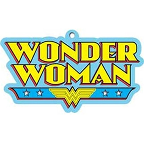 DC+Comics Products : Dc Comics WONDER WOMAN Logo Air Freshener for Vehicle, Home or Office