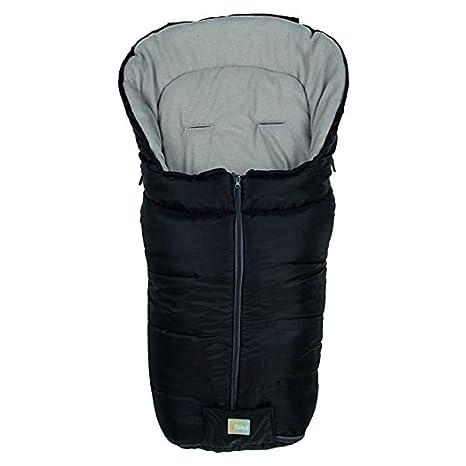 Fillikid 1220 – 06 Saco de invierno Eco, color negro/blanco