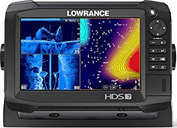 Lowrance HDS-7 Carbon - 7-inch Fish Finder with TotalScan Transducer & C-MAP US Enahanced Basemap