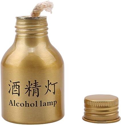 Tcplyn Alcohol lamp Camping Metal Mini Outdoor Burner Kitchen Burner Hiking Handy Durable Portable Popular