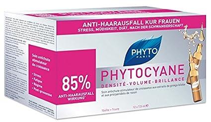 Phyto cyane – Caída del Cabello Kur ampollas 90 ml ampollas