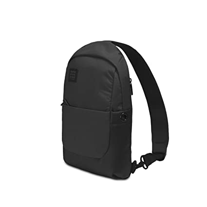 b7c249ee1eae Image Unavailable. Image not available for. Color  Moleskine ID Sling  Backpack Black