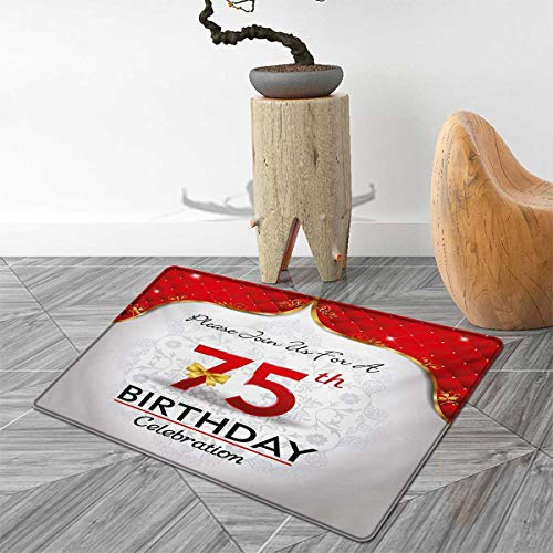 ats Carpet Royal Classical Birthday Party Floral Invitation Ceremony Please Join Us Floor Mat Pattern 40