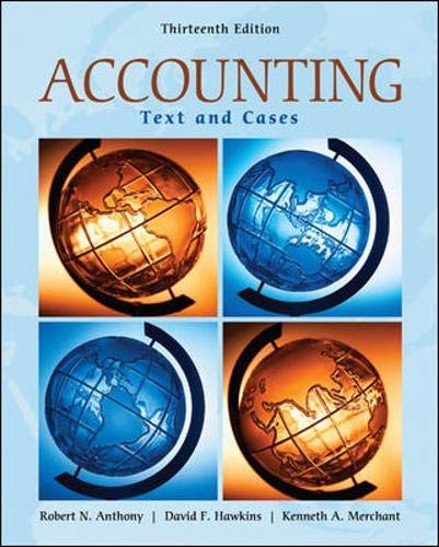Accounting: Texts and Cases
