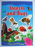 INSECTS and BUGS Sticker Activity Book (A4)