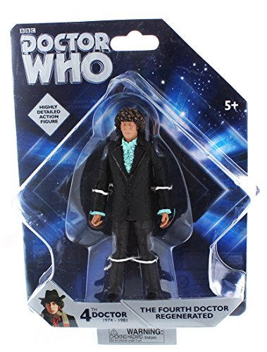 Doctor Who Fourth Doctor Regenerated 5-Inch Action Figure