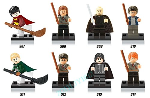 8pcs Harry Potter Voldemort Hermione Professor Snape Set Figures Kids Bricks - International Much Shipping Cost How