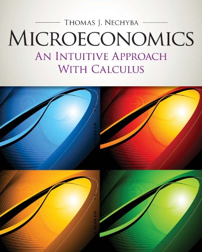 59 best microeconomics books of all time bookauthority book cover of thomas nechyba microeconomics an intuitive approach with calculus with study fandeluxe Images