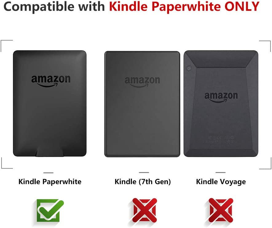 PREUP Funda Kindle Paperwhite Compatible con de Kindle Paperwhite ...