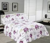 Cheap Comforter Sets Under 30 Mohap Reversible Quilt Set with Shams Queen Size Hypoallergenic for All Season Pattern#3