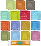 By The Cup Honey Sticks and Tea Bag Gift Set - Harney & Sons Tea Bag Sampler - 40 Count Assortment