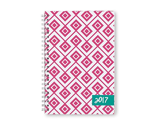 """Dabney Lee for Blue Sky """"Lucy"""" 5 x 8 Weekly/Monthly Planner, 2017"""