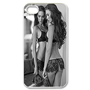 AinsleyRomo Phone Case Love Sexy Gril pattern case For Iphone 4 4S case cover FSQF500517