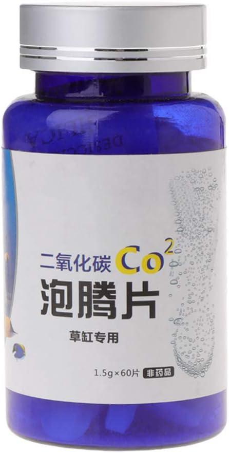 Biniwa Aquarium CO2 Tablet, dióxido de carbono, difusor de tanque de peces acuático planta flotante hierba