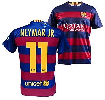 online retailer cb6ae 892ae F.C. Barcelona 2015-2016 Official Replica Home Shirt, Neymar ...