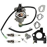Anzac Carburetor For Cummins Onan HomeSite Power 6500 13HP 5KW 5.5KW 5000 5500 WATT Gas Generators with Spark Plug Fuel Vavle Petcock
