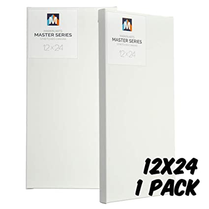 """1.5/"""" Deep Stretched Canvas for Artists 20x24/"""" 3 pack"""