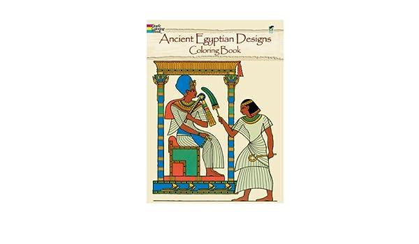 Libro para colorear Dover antiguo Egipto: Amazon.es: Hogar