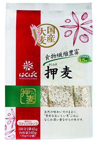 Hakubaku rolled barley stand pack 540gX6 bags by Hakubaku