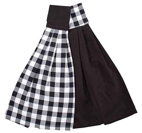 Miles Kimball Buffalo Check Hanging Towels, Set of 2 (Kitchen Checkered)