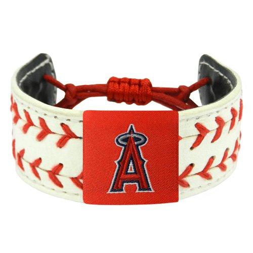 (MLB Los Angeles Angels Classic Two Seamer Bracelet)