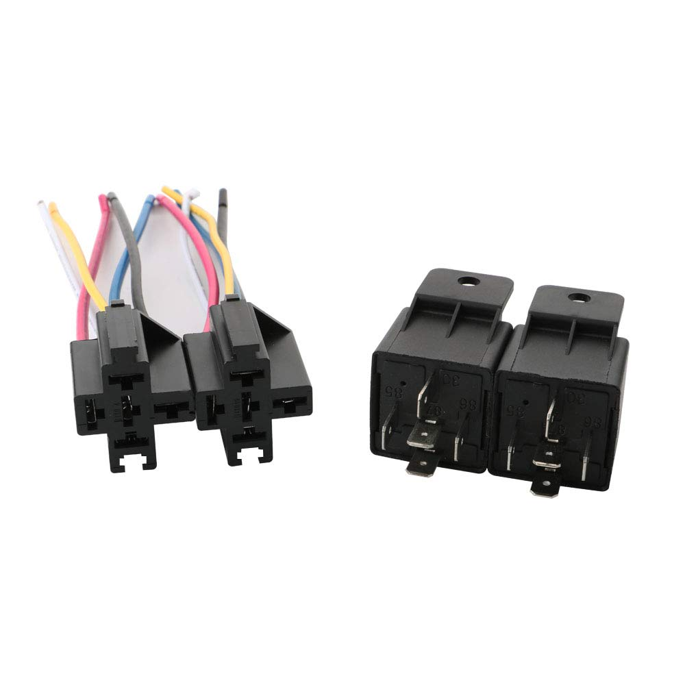 Remarkable Toohui 12V 40A Car Relay Harness 5 Pin Spdt Relay For Automotive Wiring 101 Photwellnesstrialsorg