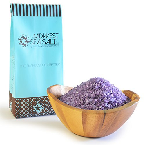 Lavender Dreams Mediterranean Sea Bath Salt Soak - 5lb (Bulk) - Coarse Grain