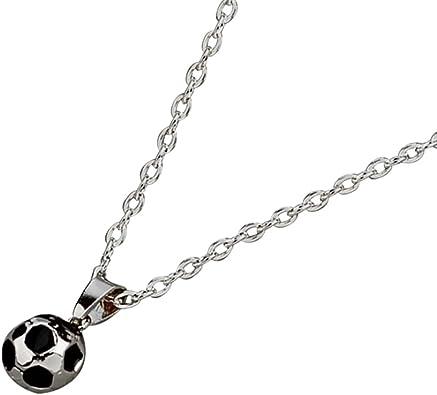 TOYANDONA - Collar con Colgante en Forma de balón de fútbol para ...