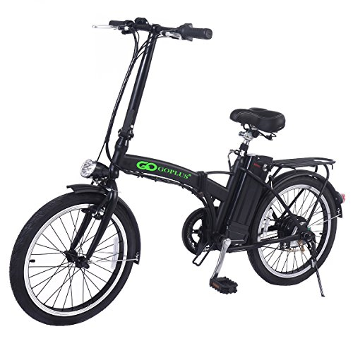 "Goplus 20"" 250W Folding Electric Bike Sport Mountain Bicy..."
