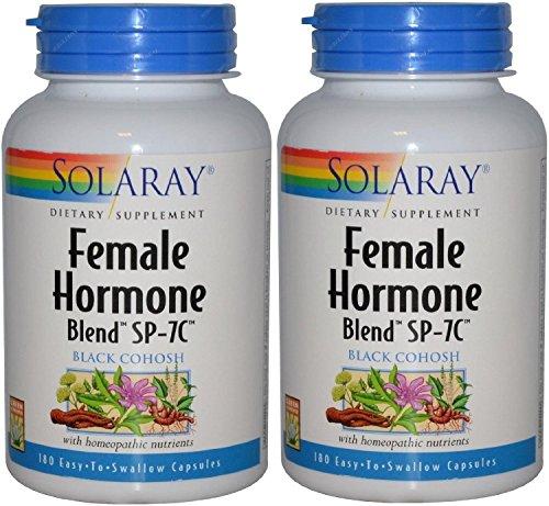 Female Hormone Blend - Female Hormone Blend SP-7C Solaray 180 VegCaps