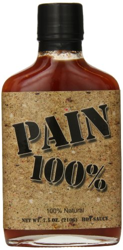 Pain 100% Hot Sauce, 7.5  Ounce