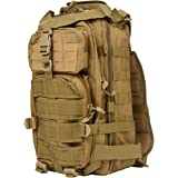 ACU Military Backpack and Great Design By Modern Warrior (Tan)